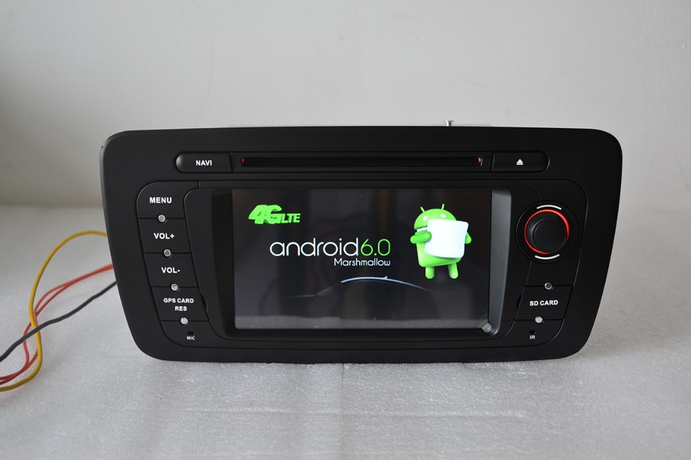 6 2 2 din android 6 0 for seat ibiza 2013 car dvd player gps navigation 4g wifi bt quad core. Black Bedroom Furniture Sets. Home Design Ideas