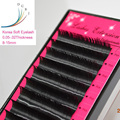 All Thicknes B/C/D curl 1 trays ,Individual natural Mink Eye lash Extension. Artificial Fake False Eyelashes