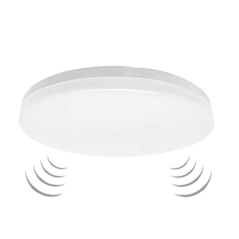 LED Ceiling Lamp 12w 18w PIR Motion Sensor Lamp Surface Mounted Auto Smart Radar Control AC 220V Round Panel Light
