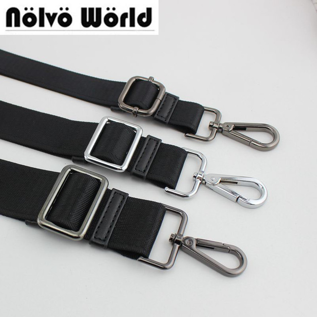 10pcs 3colors Ful Hook Nylon Belt Strap Replace Men Bags Long Shoulder Man