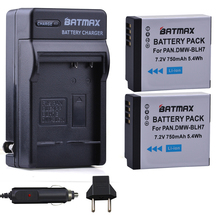 2X DMW BLH7 BLH7 DMW BLH7PP DMW BLH7E Battery Charger for Panasonic Lumix DMC GM1 GM1