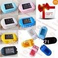 Rubber case gift +Fingertip Pulse Oximeter Spo2 Monitor ,Fast shipping CONTEC Brand CE&FDA