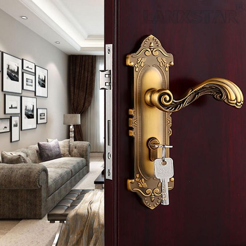 ФОТО Top Quality Home Using Zinc Alloy Lock Decoration Materials Hardware Accessories Mechanical Handle Locks