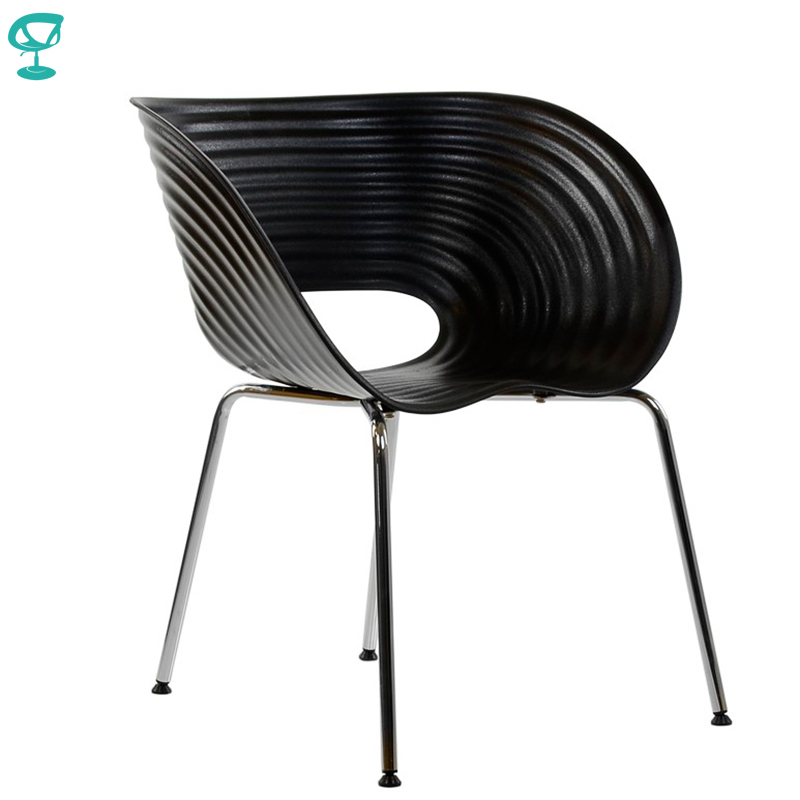 95217 Barneo N-224 Plastic Kitchen Breakfast Interior Stool Bar Chair Kitchen Furniture Black Free Shipping In Russia