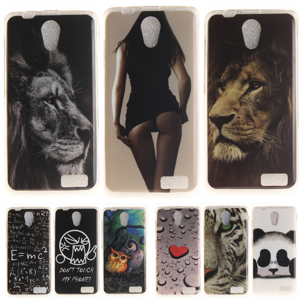 Cartoon <font><b>Phone</b></font> <font><b>Case</b></font> for Coque Lenovo A319 Soft Silicone Cover for Lenovo A 319 <font><b>Panda</b></font> Tiger Lion Owl TPU Back Protective <font><b>Cases</b></font>