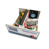 28 khz/80 khz 1200 W dupla freqüência Ultra-sônica Geradores para Aplicações de Limpeza Industial