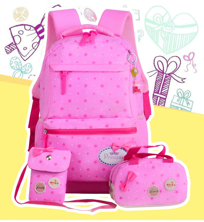 bcfb841b87 Children School Bags Teenagers Girls Printing Rucksack school ...