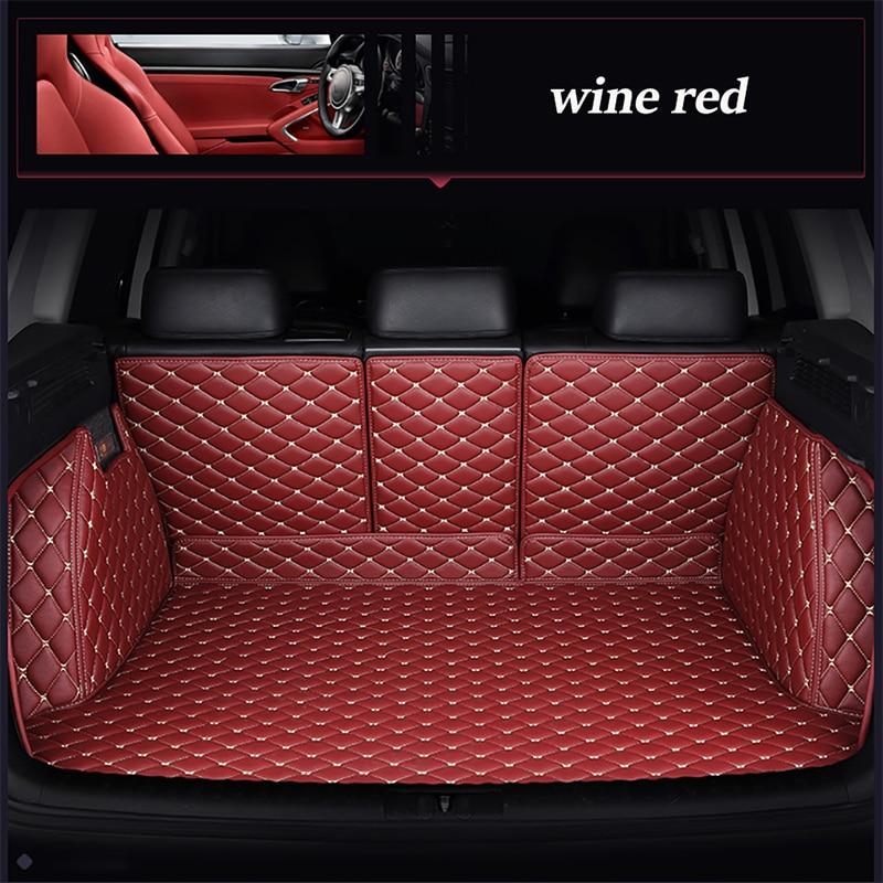 Leather car trunk mat for Ford all models Explorer Edge Everest Taurus kuga Ecosport ESCORT focus