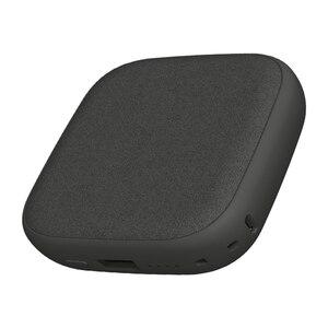 Image 3 - Xiaomi SOLOVE 10000mAh cargador inalámbrico 2.1A carga rápida cargador ultrafino de teléfono móvil para iPhone Xiaomi Tablet