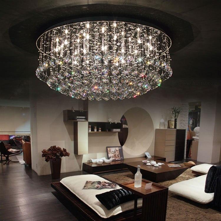 Austrian Crystal Lamp Lighting Lamps Indian Modern Minimalist Living Room Ceiling Bedroom Restaurant Lights