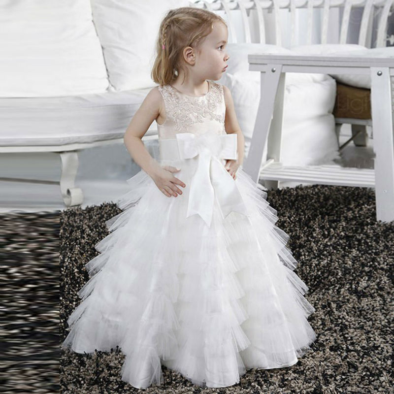 New Spring Pretty Flower Girls Dresses Tulle Communion Gown Ball Gown Mother Daughter Dresses Lace Holy Communion Dresses new spring pretty flower girls dresses tulle communion gown ball gown mother daughter dresses lace holy communion dresses
