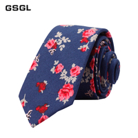 New Classic Men's Floral ties Fashion Cotton Neck For Men Corbatas Slim Suits Necktie Party Ties Vintage Printed Gravatas