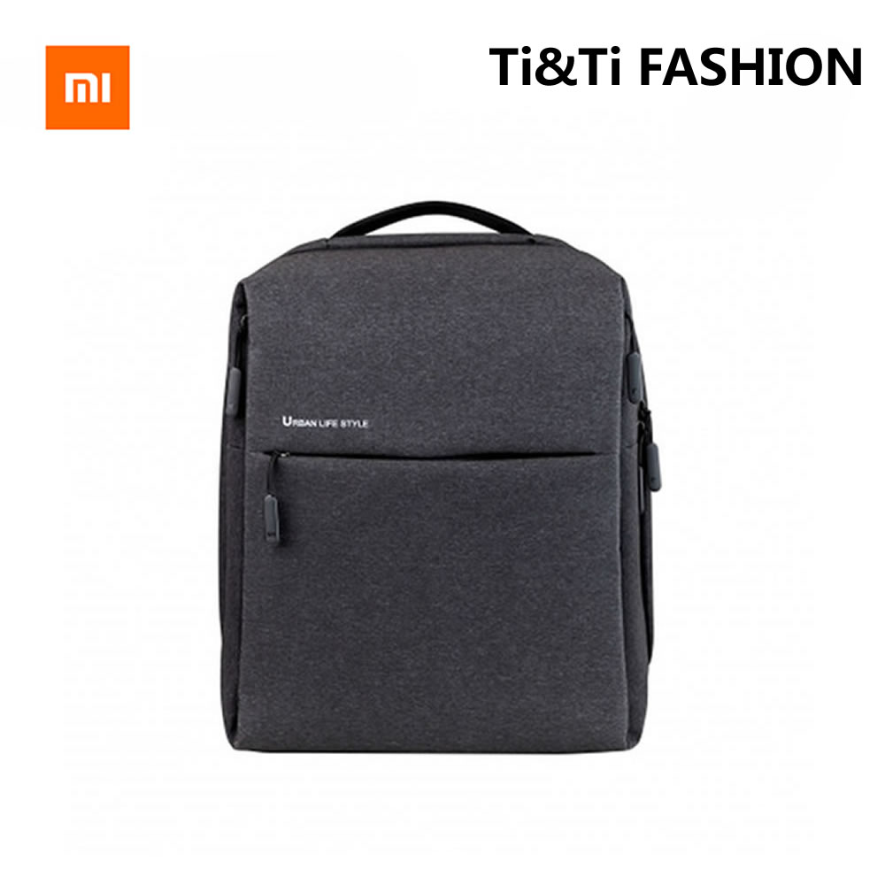 Genuine Xiaomi Minimalist Urban font b Backpack b font Can Contain 14 inch font b Laptops