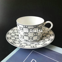 European Bone china coffee set Creativeceramic porcelain cup and saucer Afternoon tea milk cup