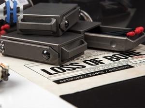 Image 3 - Creative Portable Compact EDC Titanium Alloy Draw Matchbox Outdoor Tactical Storage Box