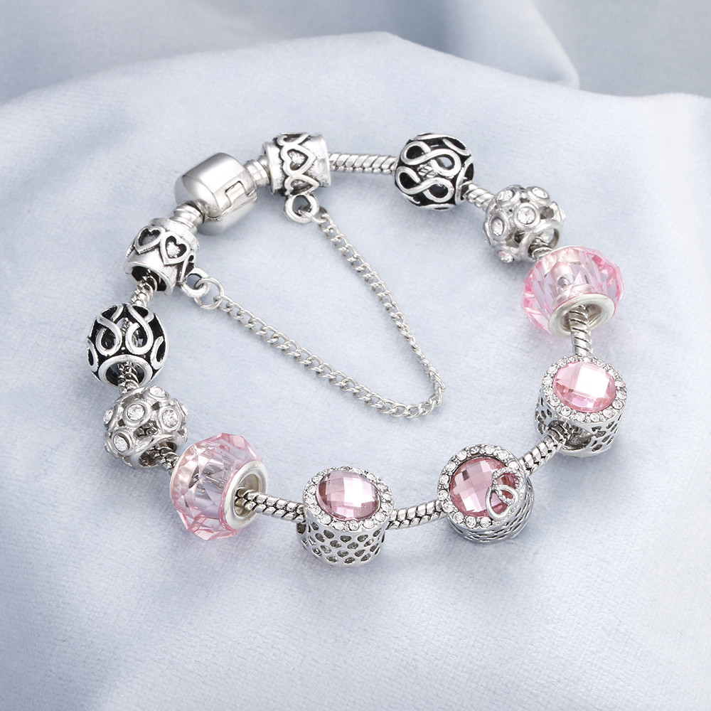 white enamel /& crystal ladies jacket clip on charm for bracelet