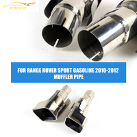 Stainless Steel Exhaust Muffler Pipe Tips Fit For Land Rover Range Rover Sport Gasoline Petrol 2010-2012 Facelift