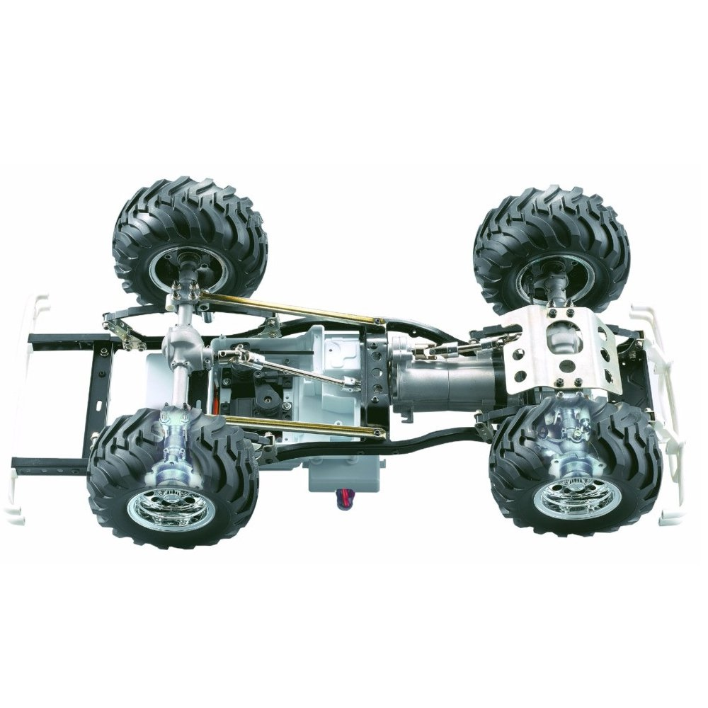 HG P407 1/10 2.4G 4WD 3CH Brushed Rally Rc Car TOYATO Metal 4X 4