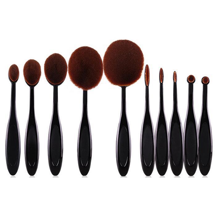 Multi-function toothbrush-like makeup brush professional foundation 10 pcs makeup brush set professional makeup brush 1pc