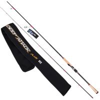 Trulinoya carbon 2.43 m deep attack Fuji accessories casting and spinning fishing rod Optional lure rod perch pole