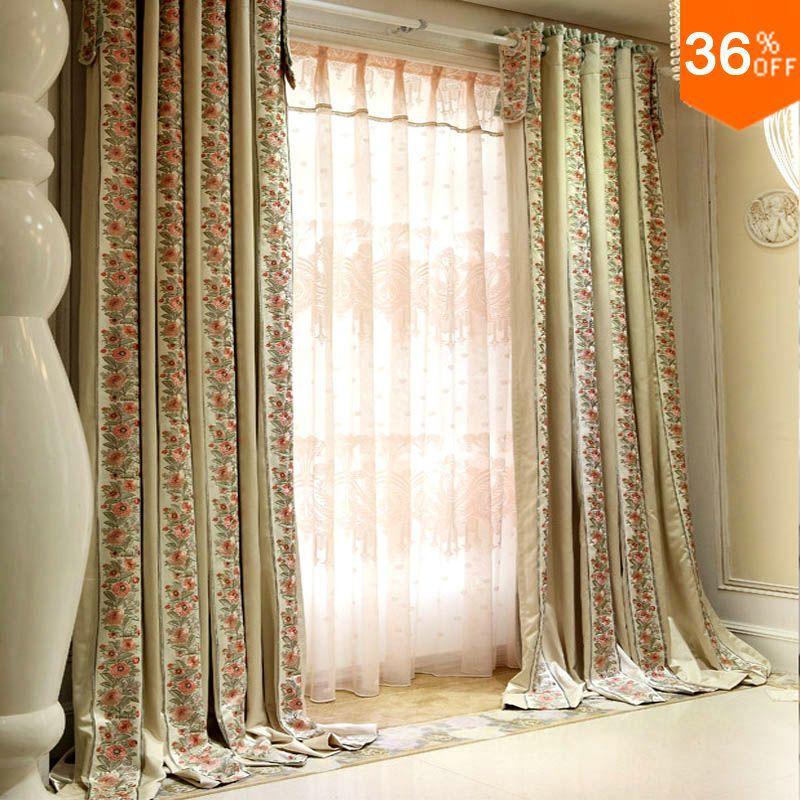 A maioria dos arbustos floridos de cortinas cortinas para - Buscar cortinas para salas ...