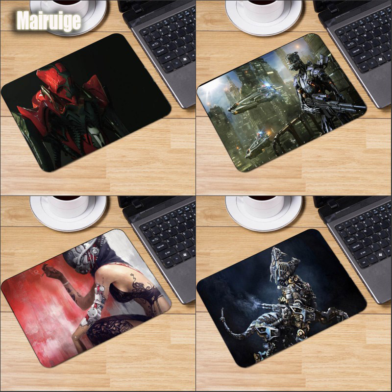 Mairuige All Kinds of Robots Style Pattern Mousepad Robot Girl Monster Mouse Mat Micepad for Decorative Tabletop Game Rubber Mat