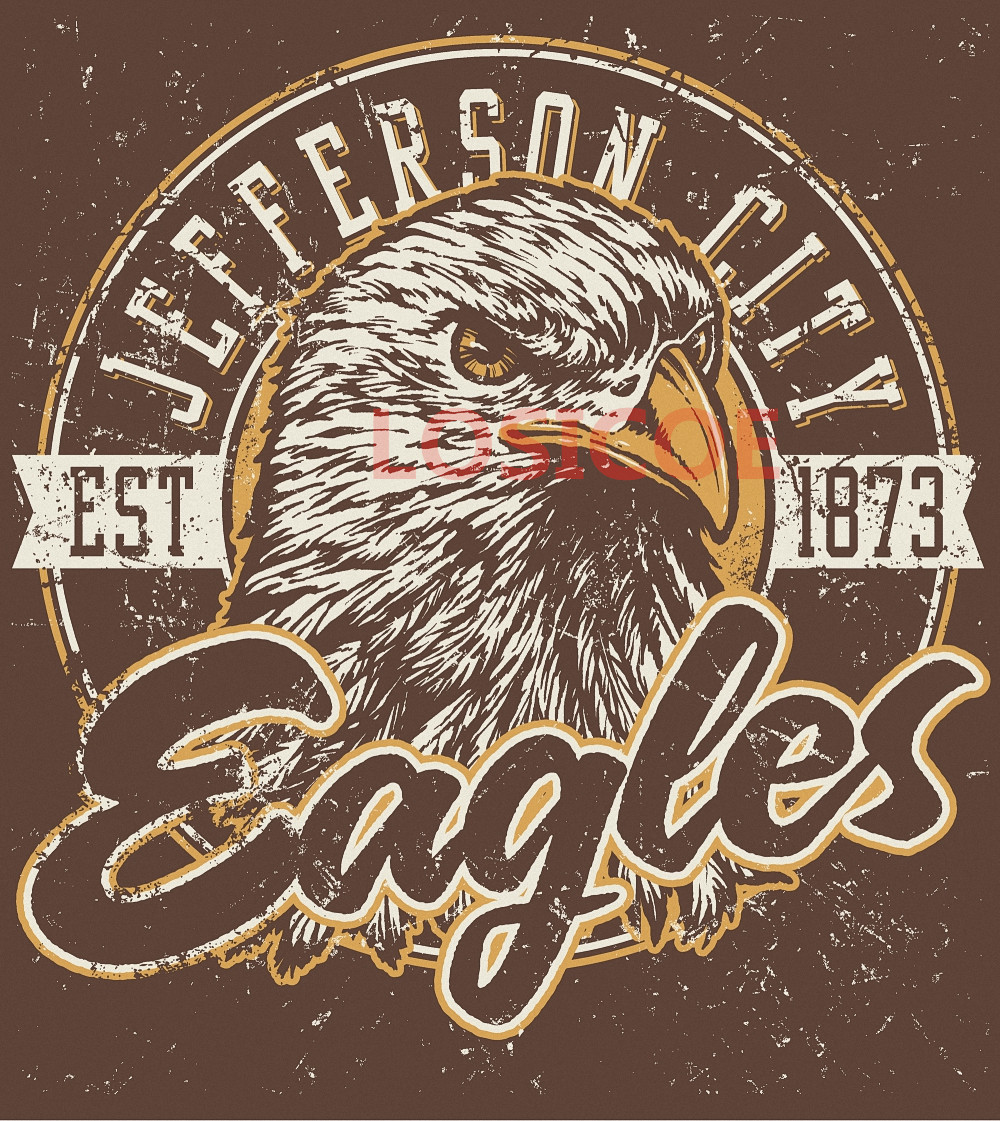 online get cheap eagle posters aliexpress com alibaba group jefferson city 1873 eagles vintage t shirt tattoos posters kraft paper interior painting wall sticker barber shop home decor