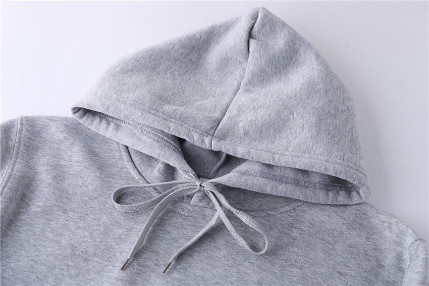 Quality Brand Men Hoodie Autumn Male Hip Hop Street wear Men Pullover Sweatshirts Hoodies Mens Solid Color Hoodie 26