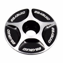 NEW Aluminum Threadless 1/1-1/8 Road MTB Bike Stem Accessories Bici Bicycle Cycling Headset Top Cap Cover new brand new brand(China)