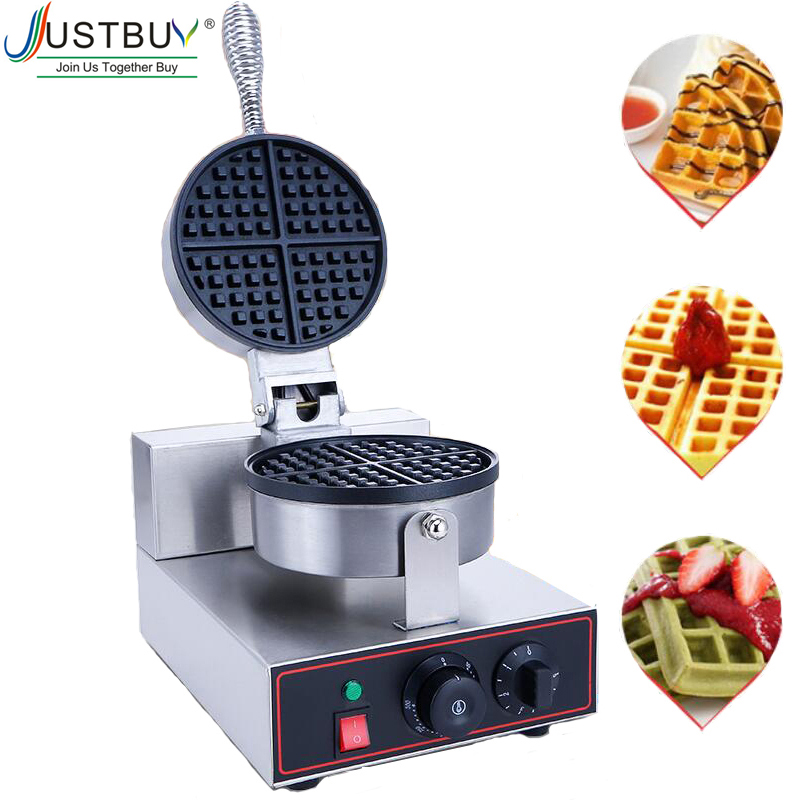 220V 110V EU US Plug Commercial Waffle Maker Waffle Oven Electric Pancake Breakfast Scone Snack