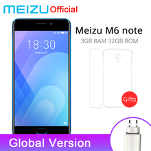 Offcial Meizu M6 Word 3GB 32GB ROM World Model Cellular Telephone 4G LTE Snapdragon 625 Octa Core 5.5″ 1080P Twin Rear Digital camera