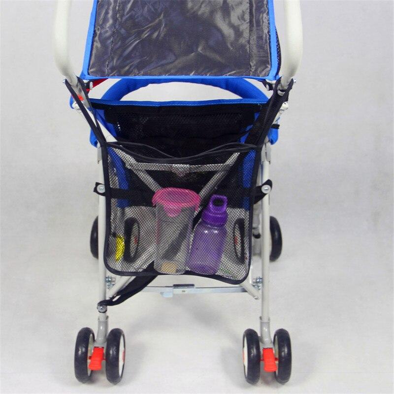 Baby Car Bag Stroller Accessories Amazing Pushchair Mesh Bag Umbrella Baby Stroller Organizer Carrying Bag TCL9023