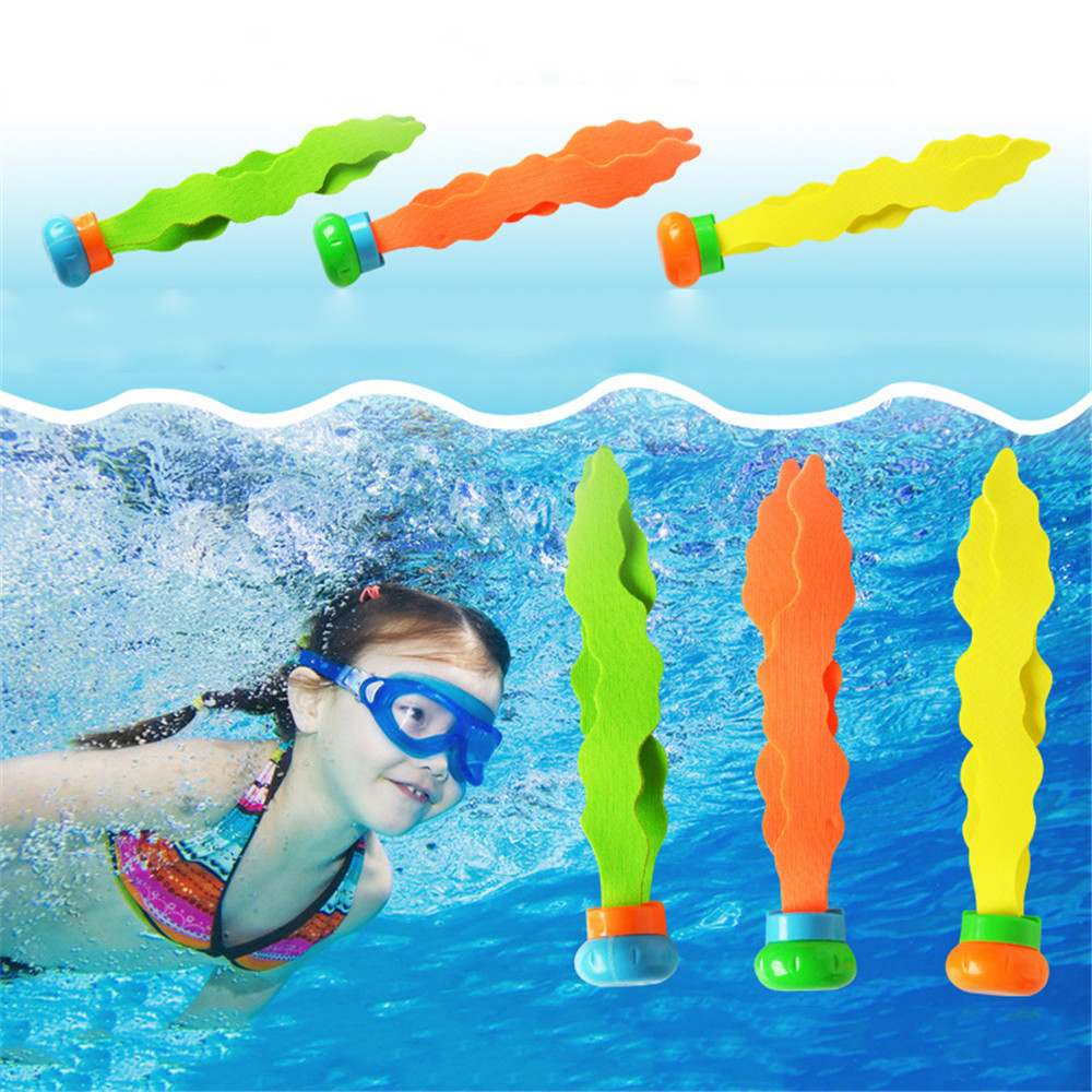 Summer Toys Seaweed Diving Toy Water Games Pool Games Child Underwater Diving Seaweed Toy Sports Parent-Child Gifts For Kid