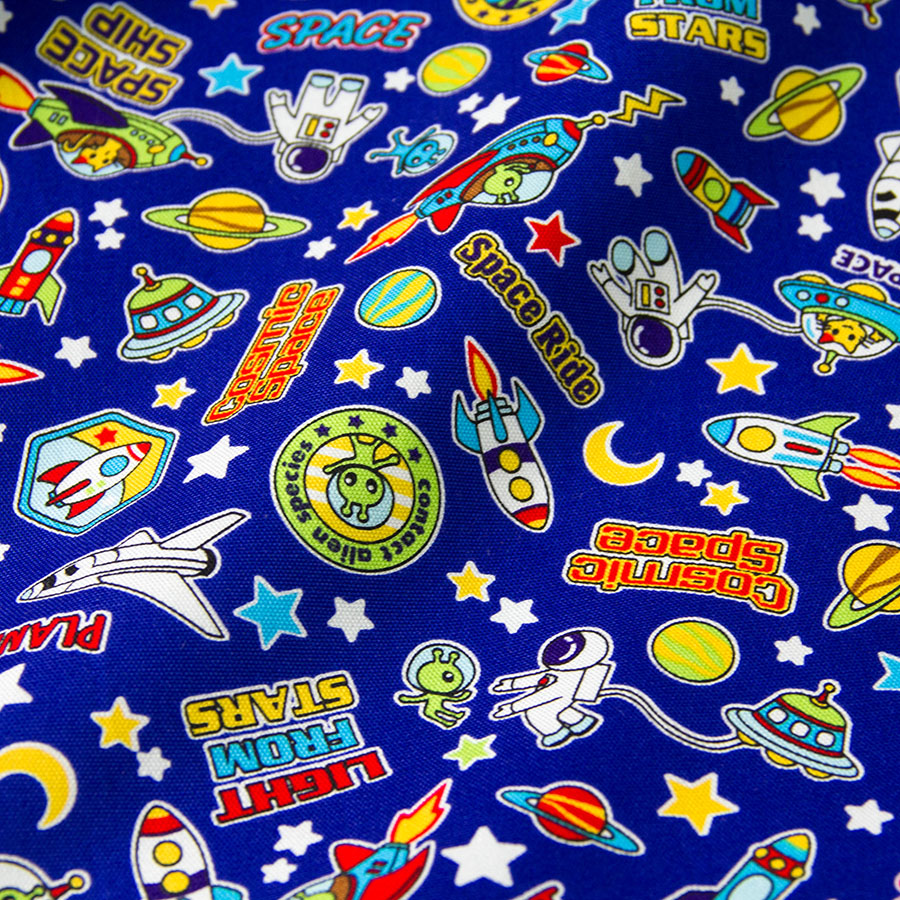 Popular fabric space buy cheap fabric space lots from for Space cotton fabric