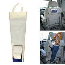 Автомобильная сумка для хранения зонтов Складное Сиденье задняя крышка вешалка водонепроницаемый чехол зонтика автомобильный футляр для зонта Органайзер