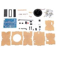 Active Components Dc 4.5v-5.5v Diy Mini Digital Fm Radio 87mhz-108mhz 2w 8ohm Speaker Electronics Kit Module 100% Guarantee Electronic Components & Supplies