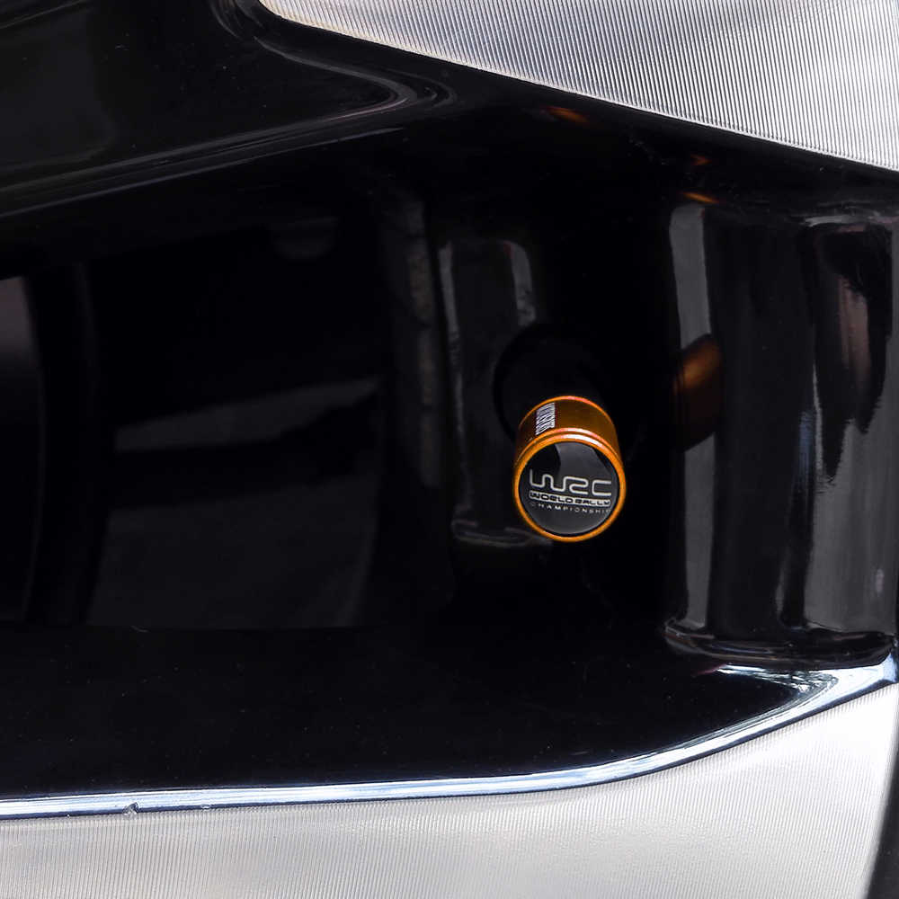 Valvola del pneumatico Caps Staminali Per Benz Audi Cadillac Chevrolet Mitsubishi BMW Dodge Dacia Honda Holden Cerchio di Copertura WRC Logo Auto decorazione