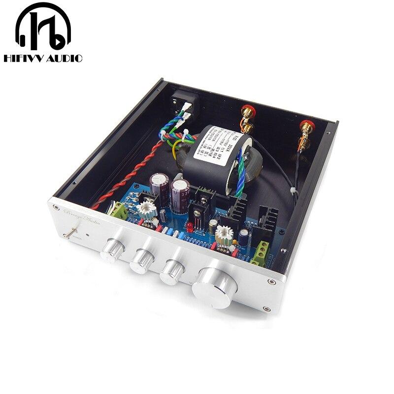 Hifi op amp chip IC OPA2604 LME49720HA pre versterker HIFI Versterker Voorversterker Volume Tone Control Board-in Versterker van Consumentenelektronica op  Groep 1