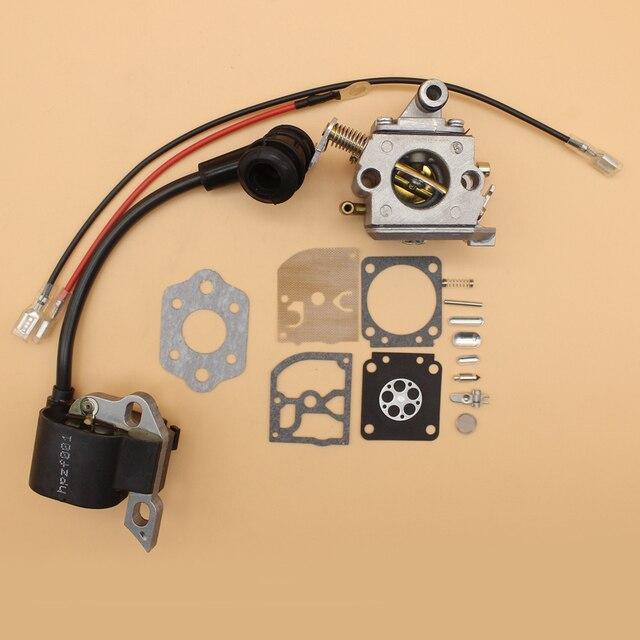 Kit de Reparo do carburador Diafragma Bobina de Ignição Para MOTOSSERRA  STIHL MS170 MS180 Peças de b41d0c9b4a