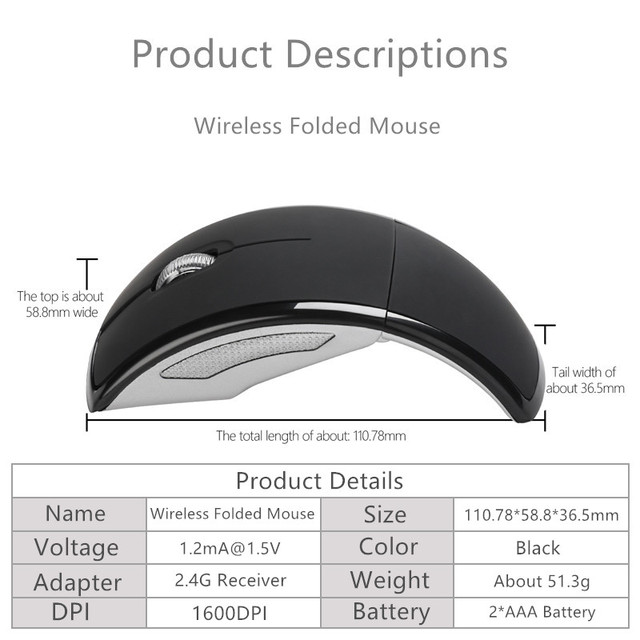 Modern Wireless Computer Mouse