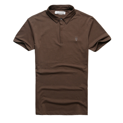 Image 5 - Brand Mens Business Polo Shirts Men Desiger Polos Men Cotton Short Sleeve shirt Clothes Summer Polos SolidPolo