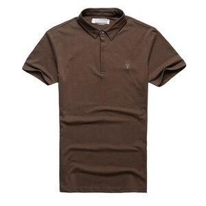 Image 5 - Di marca di Affari del Mens Polo Camicette Uomini Desiger Polo Degli Uomini Del Cotone camicia A Manica Corta Vestiti di Estate Polo Solido