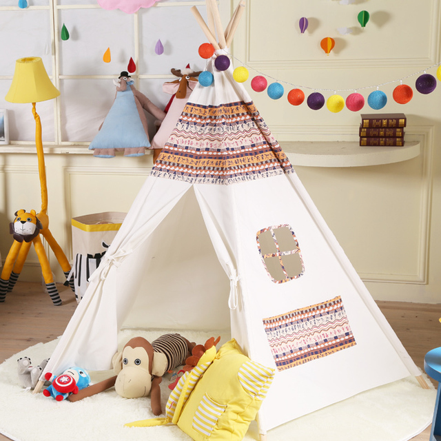 Indian national style tent 100% cotton canvas children tents photography tent outdoor/indoor tent & Indian national style tent 100% cotton canvas children tents ...