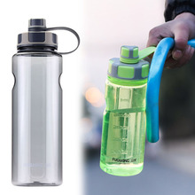 Bpa free 1500ml large capacity plastic water bottle Creative Bicycle p