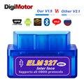 Автомобильный сканер ELM327 V1.5 ELM 327  Bluetooth  OBD2  v1.5  Android