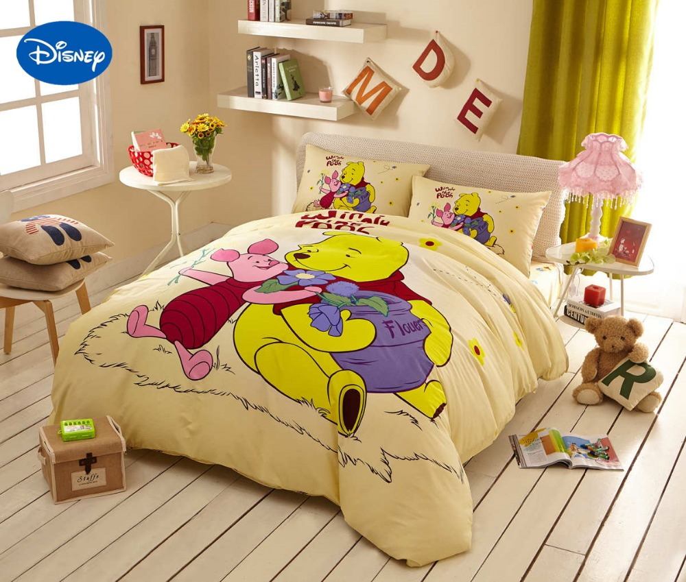 Winnie the pooh toddler bedding - Download