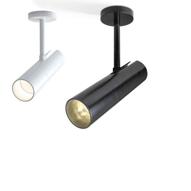 3d8e990f0 Imagen de Luz LED Superficie Montada Focos Seguimiento led Spot Lámpara de  interior Iluminación Del Punto Del Techo ...