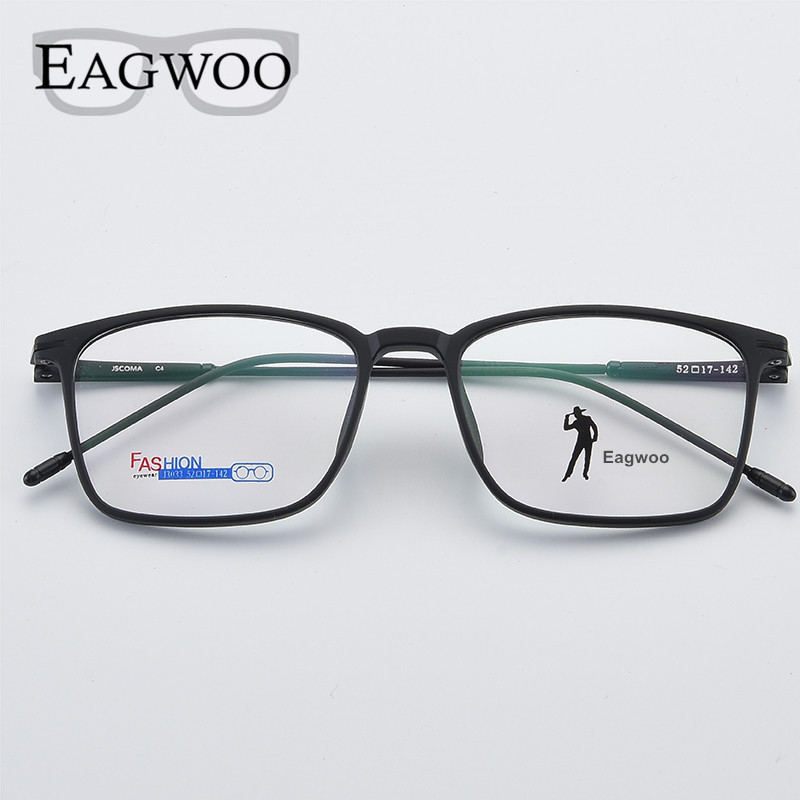 00a06becc5 Acetato hombres gafas Rim completo marco óptico de receta Rectangular  espectáculo ojo miopía gafas Nuevo 2018, 7210