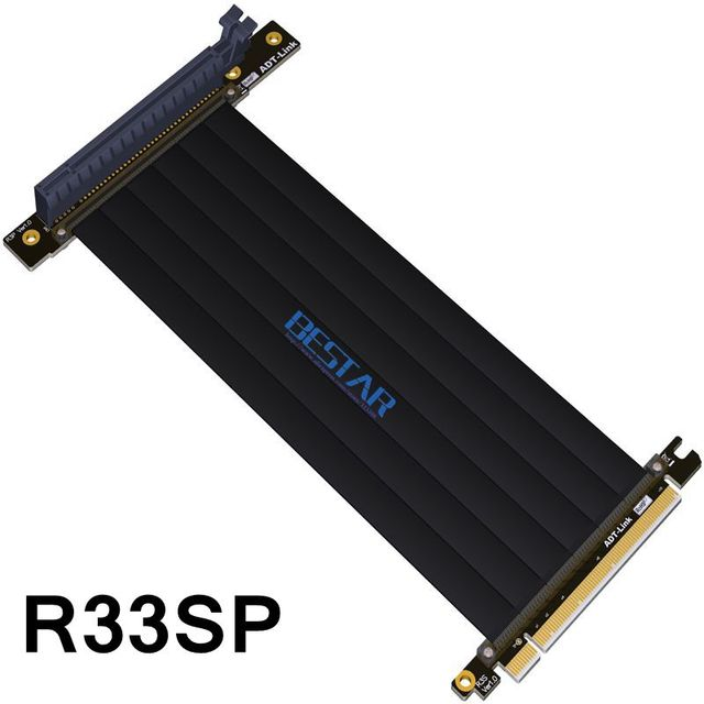 Gen3.0 câble dextension PCIe PCIe pour PHANTEKS ENTHOO Evolv Shift PH ES217E/XE PK 217E/XE ITX
