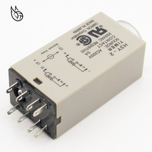 1pcs H3Y-2 AC 220V Delay Timer Time Relay 0 - 30 Minute/Seconds with Base 10pcs time timer relay 8pin h3y 2 h3y dc12v 5a 0 2min 5min 5min